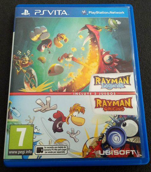 Rayman Origins + Rayman Legends Double Pack PSVITA
