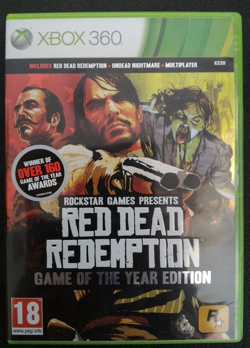 Red Dead Redemption - Game of the Year Edition X360