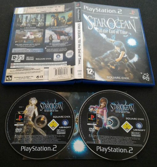Star Ocean: Till The End of Time PS2