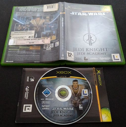 Star Wars Jedi Knight: Jedi Academy XBOX