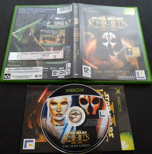 Star Wars: Knights of the Old Republic II: The Sith Lords XBOX