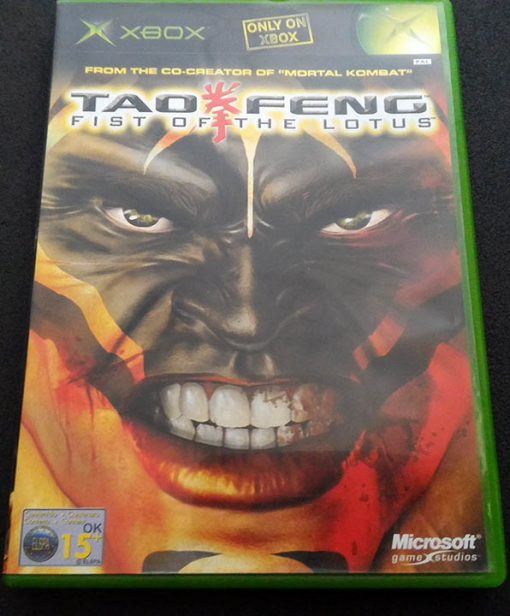 Tao Feng: Fist of the Lotus XBOX