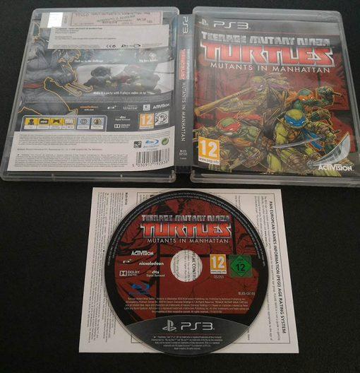 Teenage Mutant Ninja Turtles: Mutants in Manhattan PS3