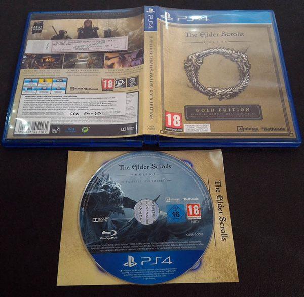 The Elder Scrolls Online: Tamriel Unlimited - Gold Edition PS4