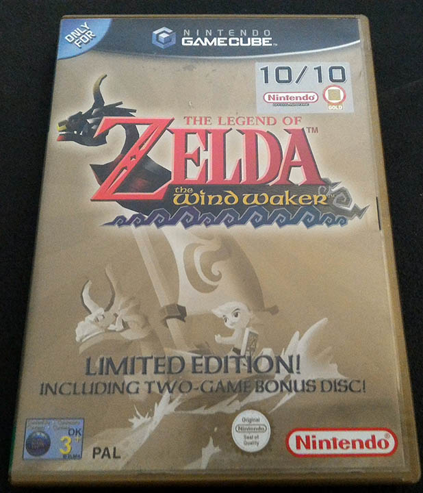 the legend of zelda the wind waker limited edition gamecube