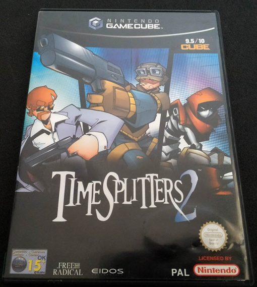TimeSplitters 2 GAMECUBE