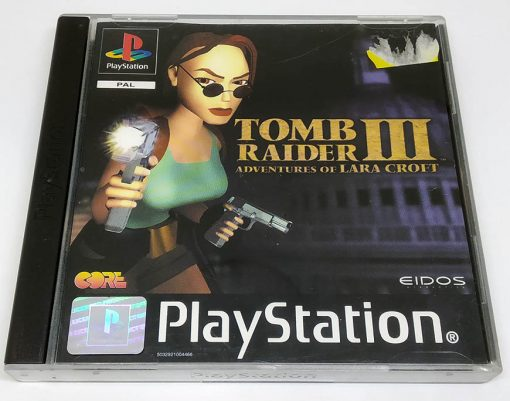 Tomb Raider III: Adventures of Lara Croft PS1