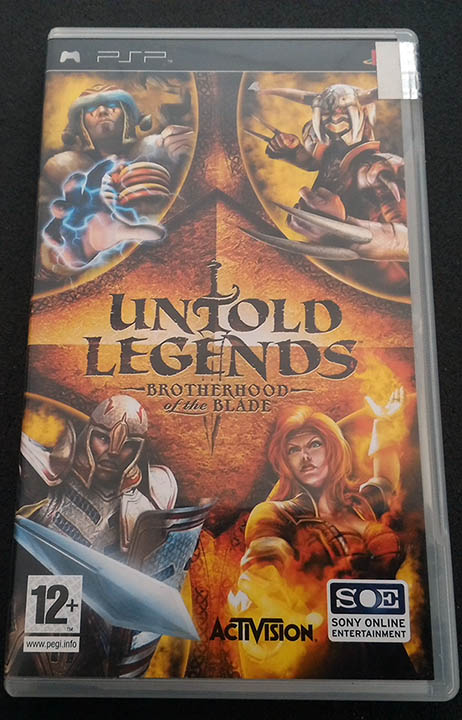 Untold Legends: Brotherhood of the Blade PSP