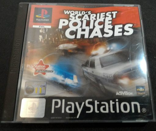 World's Scariest Police Chases PS1