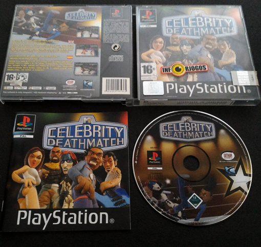 Celebrity Deathmatch PS1