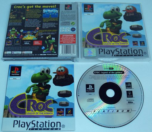 Croc: Legend of the Gobbos PS1