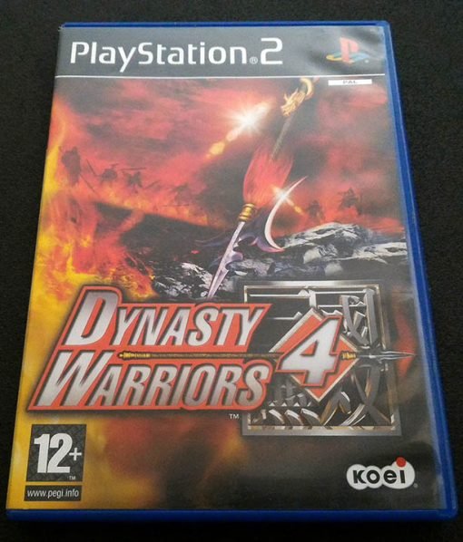 Dynasty Warriors 4 PS2