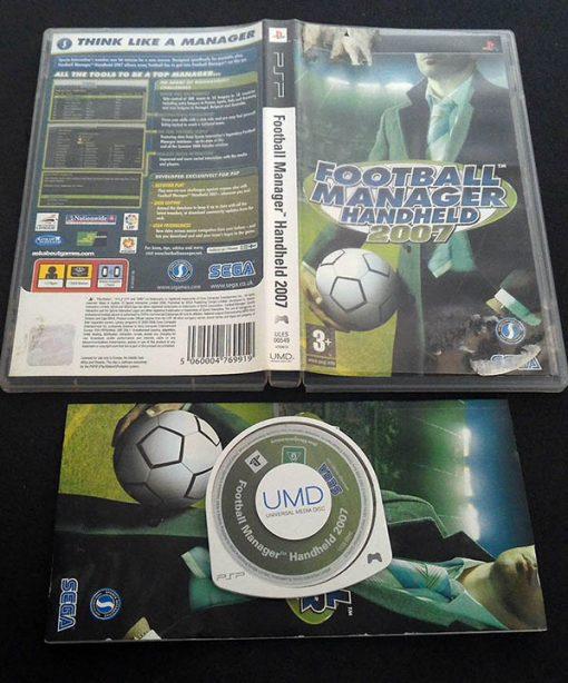 Football Manager Handheld 2007 PSP