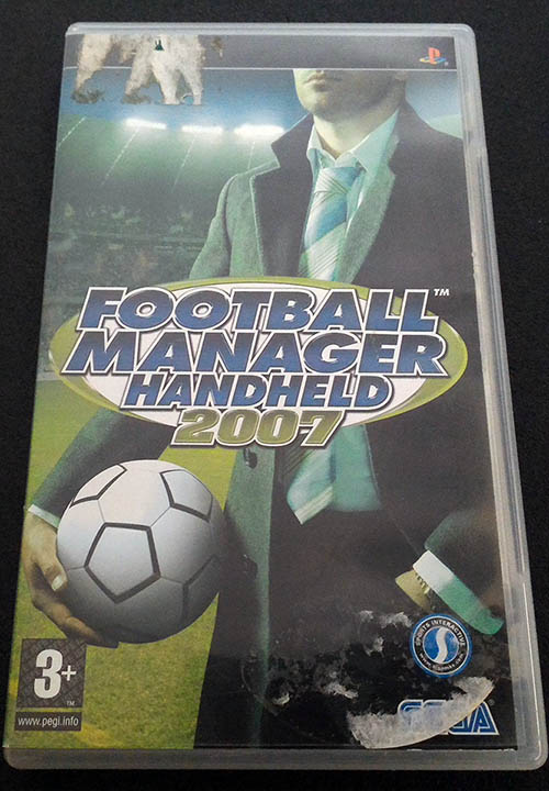 Football Manager Handheld 2007 PSP