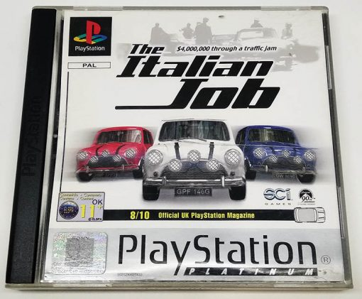 The Italian Job PS1