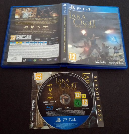 Lara Croft and the Temple of Osiris - Gold Edition PS4