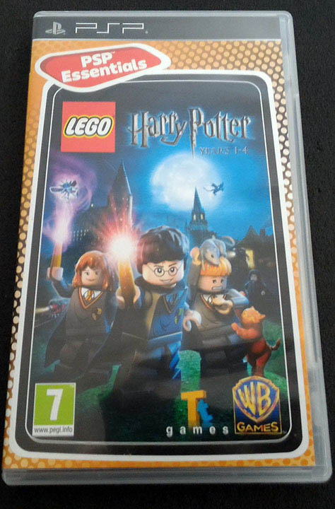 Lego Harry Potter Years 1-4 PSP