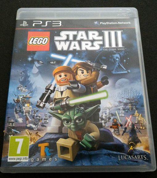 Lego Star Wars III: The Clone Wars PS3