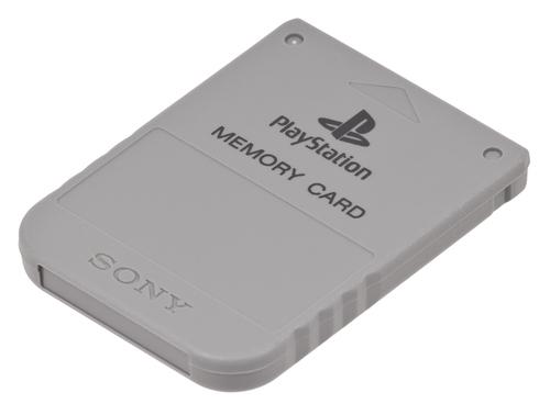 AcessórioUsado Playstation Memory Card