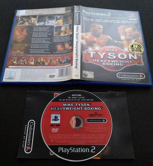 Mike Tyson Heavyweight Boxing PS2