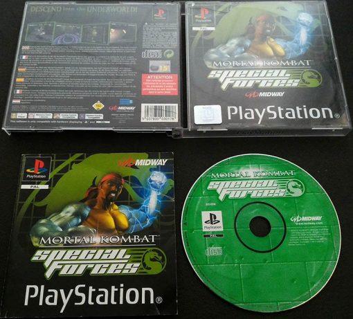 Mortal Kombat: Special Forces PS1
