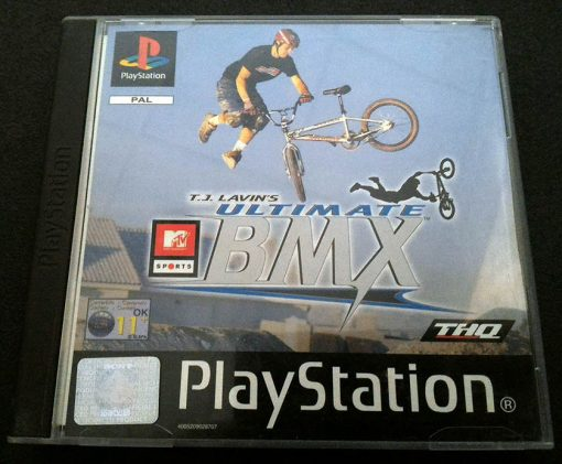 MTV Sports: T.J. Lavin's Ultimate BMX PS1