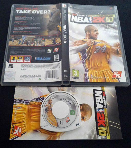 NBA 2K10 PSP