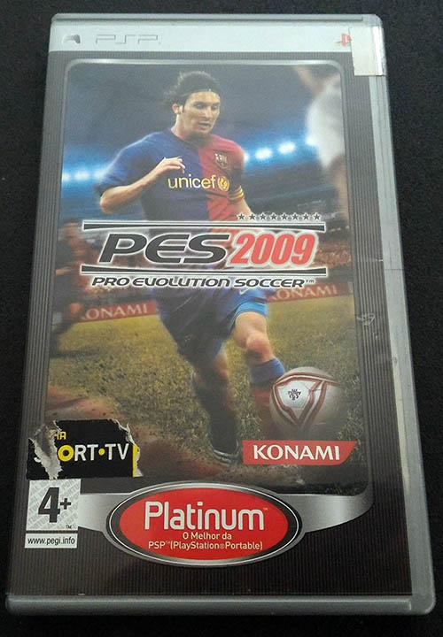 Pro Evolution Soccer 2009 PSP