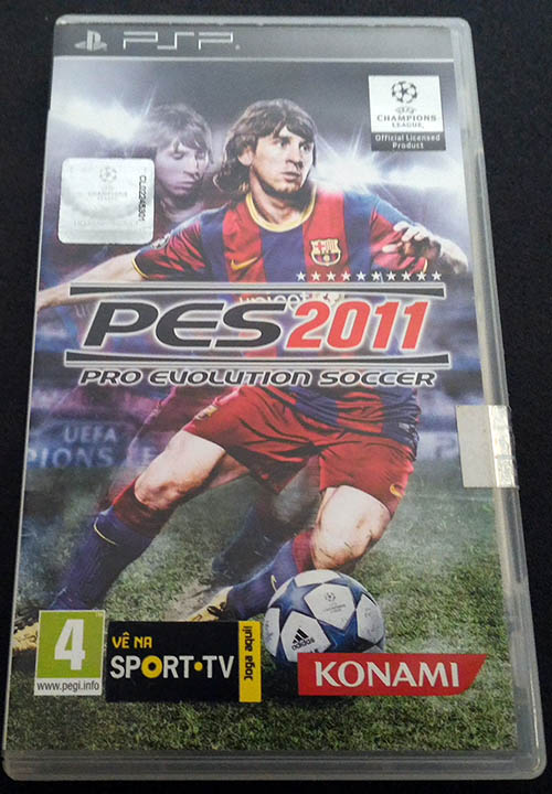 Pro Evolution Soccer 2011 PSP