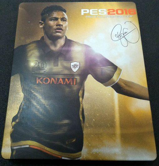 Pro Evolution Soccer 2016 Steelbook PS4