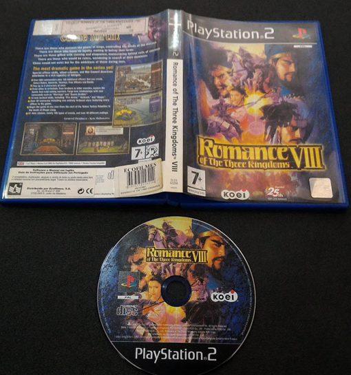 Romance of The Three Kingdoms VIII PS2