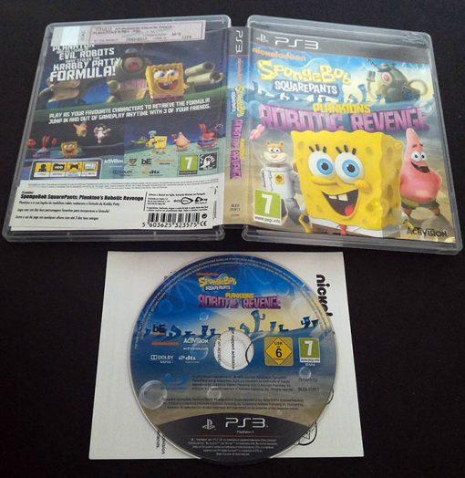 Spongebob Squarepants: Plankton's Robotic Revenge PS3