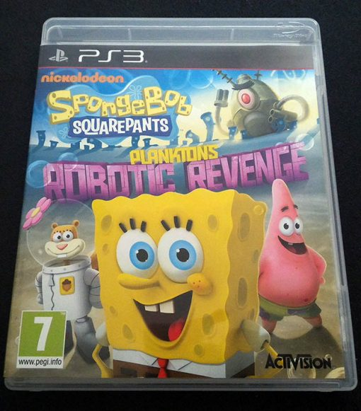 Spongebob Squarepants: Plankton's Robotic Revenge PS3