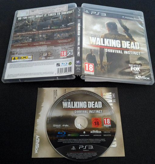 The Walking Dead: Survival Instinct PS3