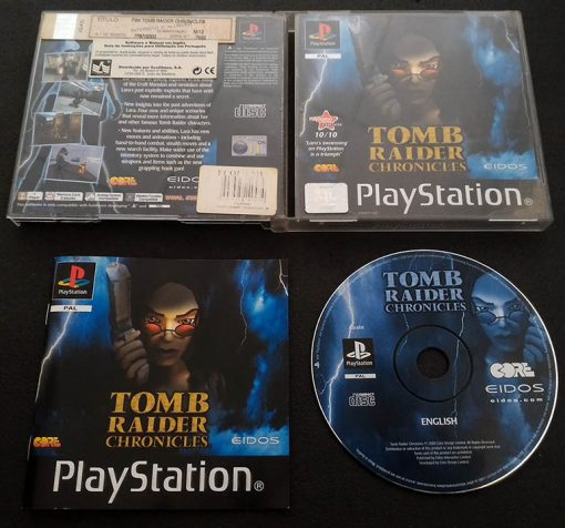 Tomb Raider Chronicles PS1