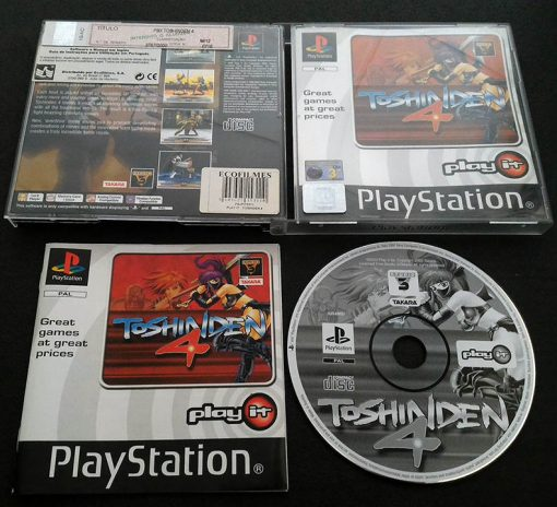 Toshinden 4 PS1