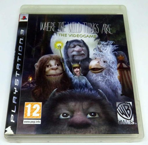 Where The Wild Things Are PS3