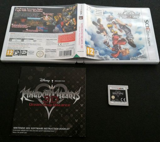 Kingdom Hearts 3D: Dream Drop Distance 3DS