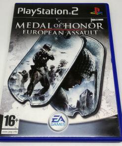 Medal of Honor: European Assault PS2