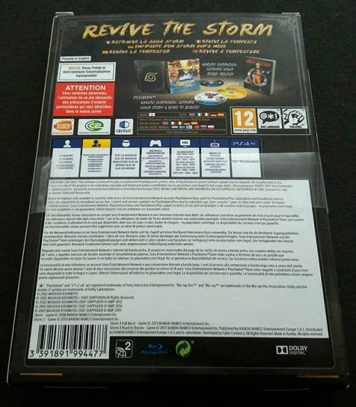 Naruto Shippuden: Ultimate Ninja Storm Legacy PS4