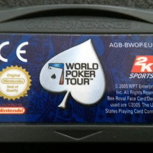 World Poker Tour GAME BOY ADVANCE
