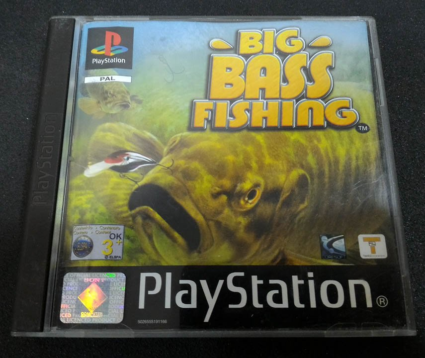 Big bass fishing ps1 seminovo play n 39 play for Ps4 bass fishing games