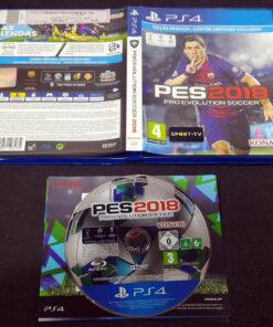Pro Evolution Soccer 2018 PS4