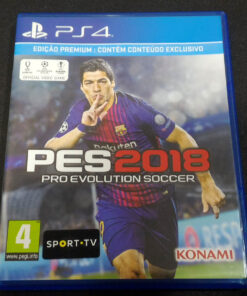Pro Evolution Soccer 2018 PS4