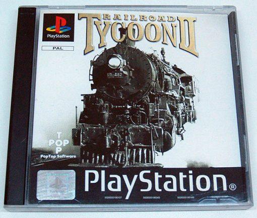 Railroad Tycoon II PS1