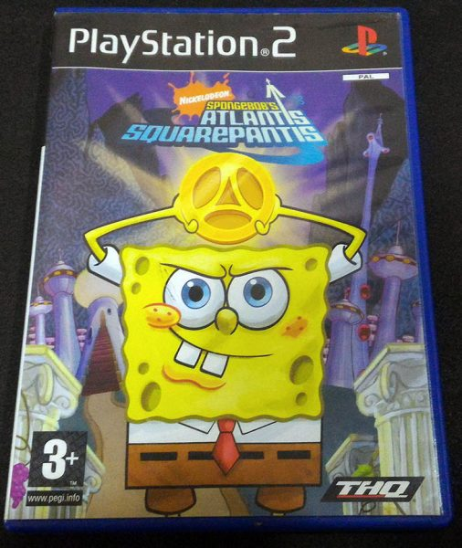 SpongeBob: Atlantis SquarePantis PS2