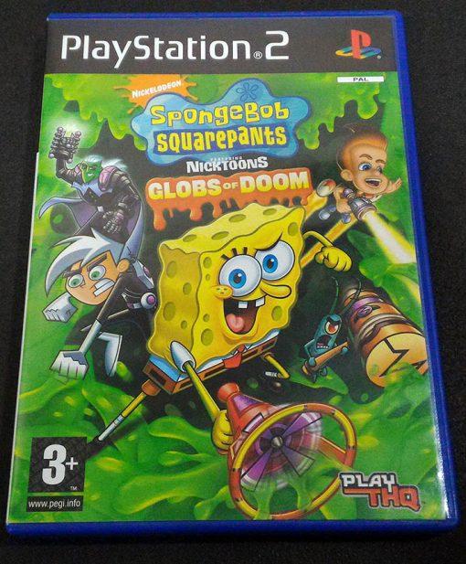 SpongeBob SquarePants featuring Nicktoons: Globs of Doom PS2