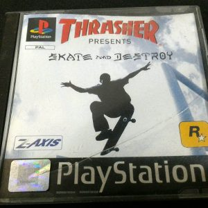 Thrasher: Skate and Destroy PS1
