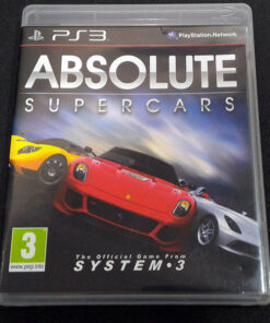 Absolute Supercars PS3