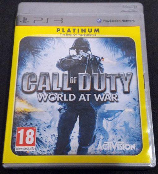 Call of Duty: World at War PS3